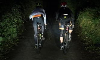 Tim and Charlotte - to Bridport at night